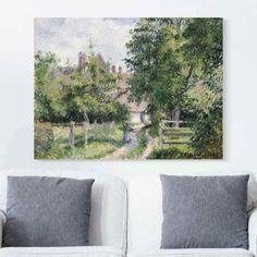 Leinwandbild Camille Pissarro - Kunstdruck Saint-Martin bei Gisors - Impressionismus 30x40x2-0.00-LB-3-4 Jetzt bestellen unter: https://moebel.ladendirekt.de/dekoration/bilder-und-rahmen/poster/?uid=cd9992ad-3466-578f-a767-e4a9e214dad7&utm_source=pinterest&utm_medium=pin&utm_campaign=boards #heim #bilder #rahmen #poster #dekoration