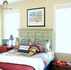 Dream Boy's Bedroom & Playroom Is there a room that sold you on your house? There was for us. The instant we saw the combo playroom/bedr...