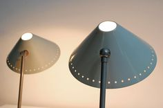 2 wall-, table lamps  'Pinocchio'  H.Th.A. Busquets  Hala Zeist; 1956 http://www.b22design.nl/content/new.html