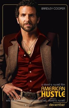 American Hustle Richie Bradley Cooper Movie Poster 11x17