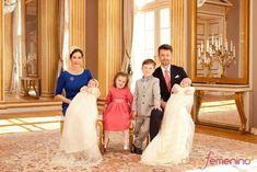 Baptême du prince Vincent et de la princesse Joséphine
