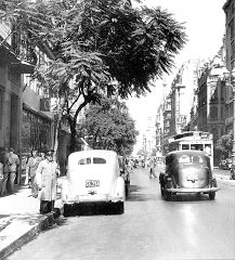 Callao y sarmiento 1943 Bs As, Life Is Good, The Past, Retro, Country, World, Photography, Outdoor, Vintage