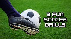 3 Fun Soccer Drills