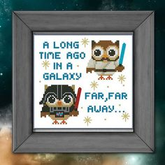 Hey, I found this really awesome Etsy listing at http://www.etsy.com/listing/127894699/hooties-star-wars-wannabees-cross-stitch