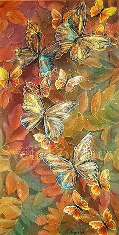 Логинова Светлана. Бабочки цвета махагон