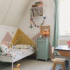 Super Ideas For Baby Room Pastel Ikea Hacks Ikea Toddler Bed, Ikea Kids Bed, Ikea Minnen Bed, Ikea Girls Bedroom, Yellow Kids Rooms, Kids Bed Canopy, Cama Ikea, E Room, Little Girl Rooms