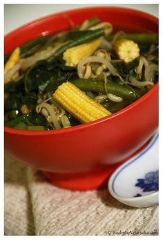 Smak Azji pod kołem podbiegunowym: Warzywna zupa curry