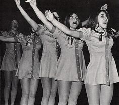 1960s Cheerleaders