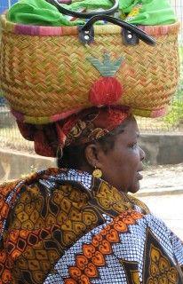 Mahorais woman, Mayotte.