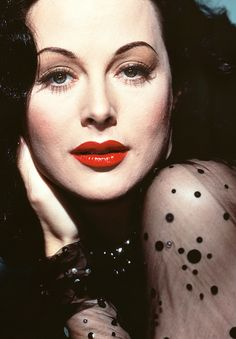 """"""" When I first met Hedy Lamarr, about twenty years ago, she was so beautiful that everybody would stop talking when she came into a room. Wherever she went she was the cynosure of all eyes. I don't think anyone concerned himself very much about..."""