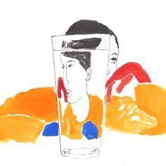 """carloshache: """" #illustration #carloshache @yokoogibraan """""""