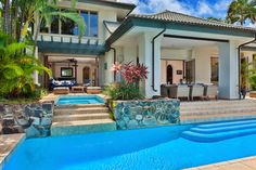 Explore the most Luxurious Homes from the specialists at Luxury Retreats. Find villas in Italy, Greece, France, Caribbean, Hawaii and around the world Outdoor Living, Outdoor Decor, Luxury Holidays, Maui Hawaii, More Photos, Pavilion, Kerala, My House, Bali