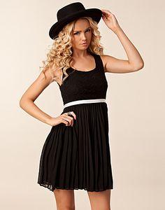 Black and white - Vila Vical Dress