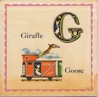 Free Vintage Alphabet Clip Art