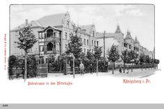 Königsberg Pr. Mittelhufen, Bahnstraße