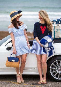 Classy Girls Wear Pearls: Fiat Around Newport