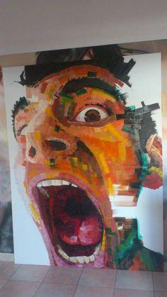 Voragine Oil on Canvas 150 x 200