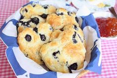My Kitchen Snippets: Blueberry Scones