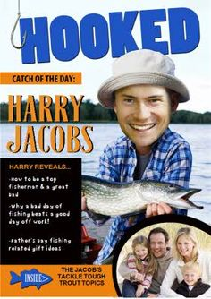 Get Dad, Hook, Line and Sinker; with this awesome Spoof fishing magazine for Father's Day Fishing Magazines, Fathers Day Cards, Top 40, Pick One, Card Making, Dads, Superhero, Feelings, Awesome