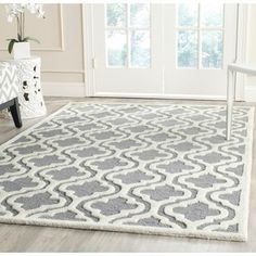 Well-woven Mano Shades of Grey Suzzani Bold Grey Polypropylene Rug (5'3 x 7'3) - Overstock Shopping - Great Deals on 5x8 - 6x9 Rugs