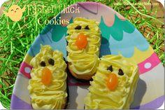 Easter Chick Cookies - The Seasoned Mom