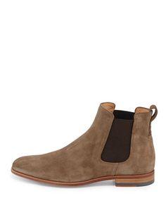 VINCE Arthur Suede Chelsea Boot. #vince #shoes #boots