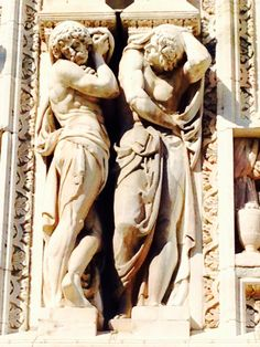Mesmerized By The Details! Duomo, Milan, Italy.