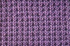 The broken rib stitch is often confused with the mistake rib stitch. Mistake rib…