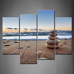 """Canvas Print Picture - 5 Piece - Total size: Width 59,1""""(150cm), Height 39,4""""(100cm) Completely framed - Wall Art - Ready to Hang - multi panel - five 5 Part Panels - photo no. 2657 - EA150x100-2657"""