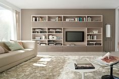 Frassino Canapa and Visone Lux TV Cabinet | ColombiniCasa