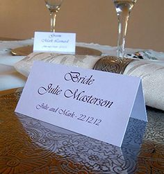 Personalised Place Cards any Occasion Printed with Individual Guest Names on Smooth White or Ivory card Pack of 24 IJC http://www.amazon.co.uk/dp/B00SOWP7YA/ref=cm_sw_r_pi_dp_iE6rvb0QJE1YB