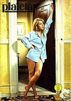 Shapely legs. - Jane Fonda