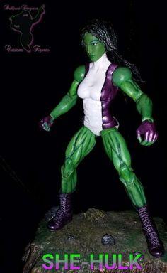 She-Hulk (Marvel Legends) Custom Action Figure