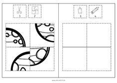 Raumfahrt-Puzzles in 3 Schwierigkeitsstufen #Puzzle #freebie #Noprep