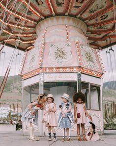 @mer_mag + @wrenandjames summer nostalgia - matching girl and doll dresses