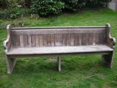 Church Pew. Now where can I get me one of these?