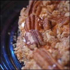 Pecan Cheesecake Recipe - A nice holiday cheesecake. Originally submitted to CakeRecipe.com.