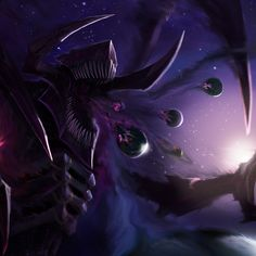 Telos 'Astral of Oblivion' (Universal Form) Character Concept, Character Art, Concept Art, Character Design, Champions League Of Legends, League Of Legends Memes, Weird Creatures, Mythical Creatures, Cthulhu Art