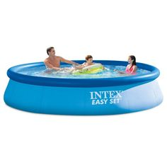 Intex 12ft X 30in Easy Set Pool Set with Filter Pump 744211393406 | eBay