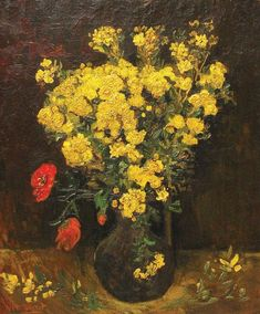 ART & ARTISTS: Vincent van Gogh - Flowers part 1