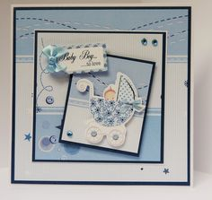 7 x 7 card made by Sue Dinsdale using Kanban Cherished Occasions Collection