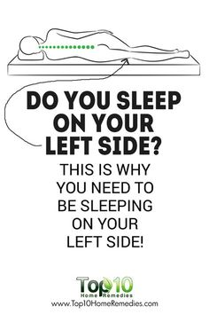 Do You Regularly Sleep on Your Right Side? This Is Why You Need To Be Sleeping On Your Left Side!