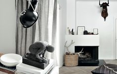 Objects by Nord for a Scandinavian feel.