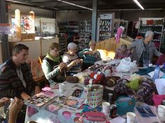 Super gezellige workshop te Alken