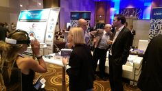 Guests check out the latest #VR technology from @kpmgus at #IMPACT15.