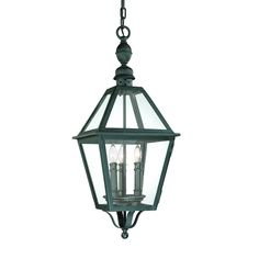 Troy Lighting F9627NB 3 Light Townsend Large Outdoor Pendant, Natural Bronze