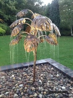 The Copper Sculptor   -   Specializing in Copper Tree Water Features
