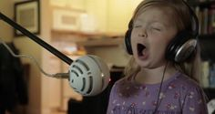 These Four-Year-Old Girls Sing Their Heart And It Is Adorably Hilarious! I laughed so hard at this! SO cute!