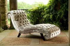Chaise Lounge Parisian Day Bed by KingsgateFurniture on Etsy