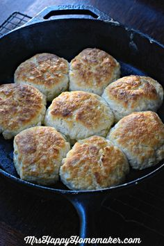 My Mama's BEST EVER Buttermilk Biscuits - no kneading or rolling required. It's Mama's 'secret method' that makes them so easy, foolproof, and the best dang biscuits you EVER have had. Trust me on thi